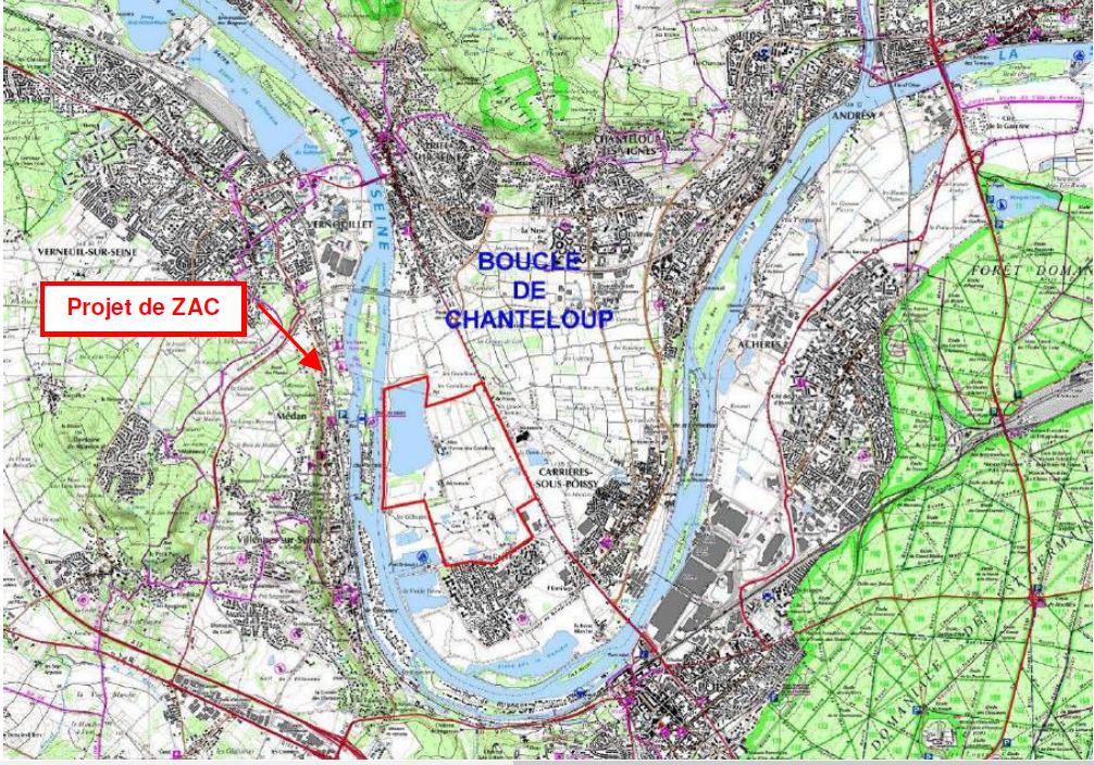 cartographie ZAC Ecopole